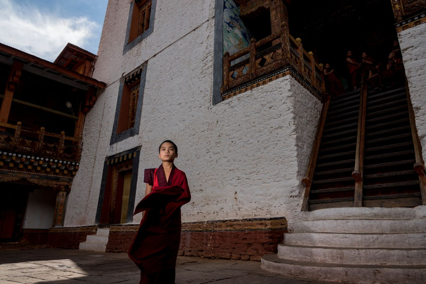 Photo of Punakha Dzong By Anand Subramanian
