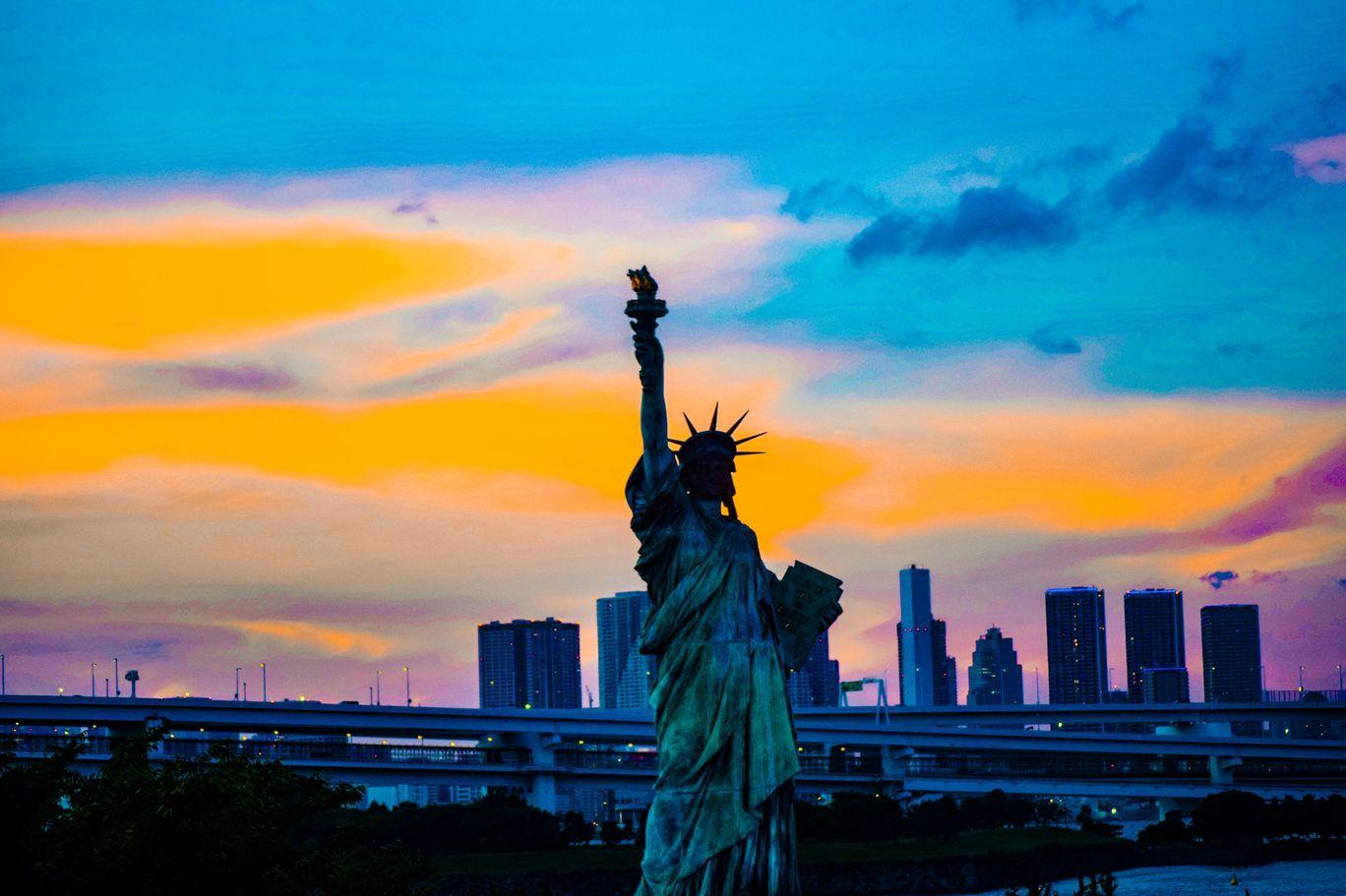 Photo of Odaiba Statue of Liberty By Priyanka Gandhi