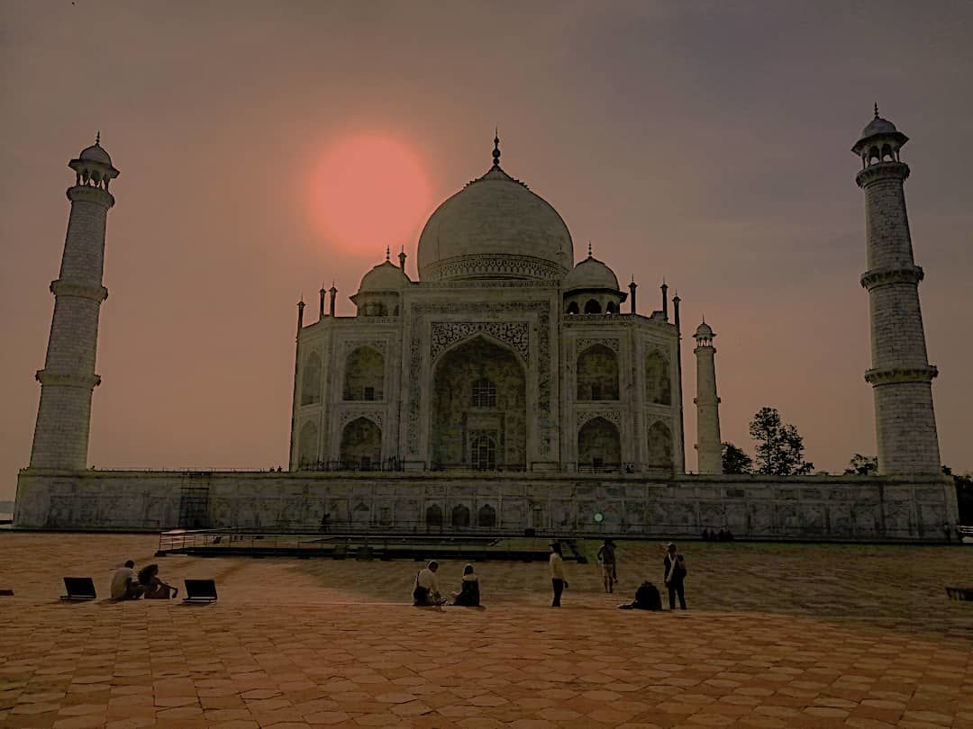 Photo of Taj Mahal By Naveen Rai