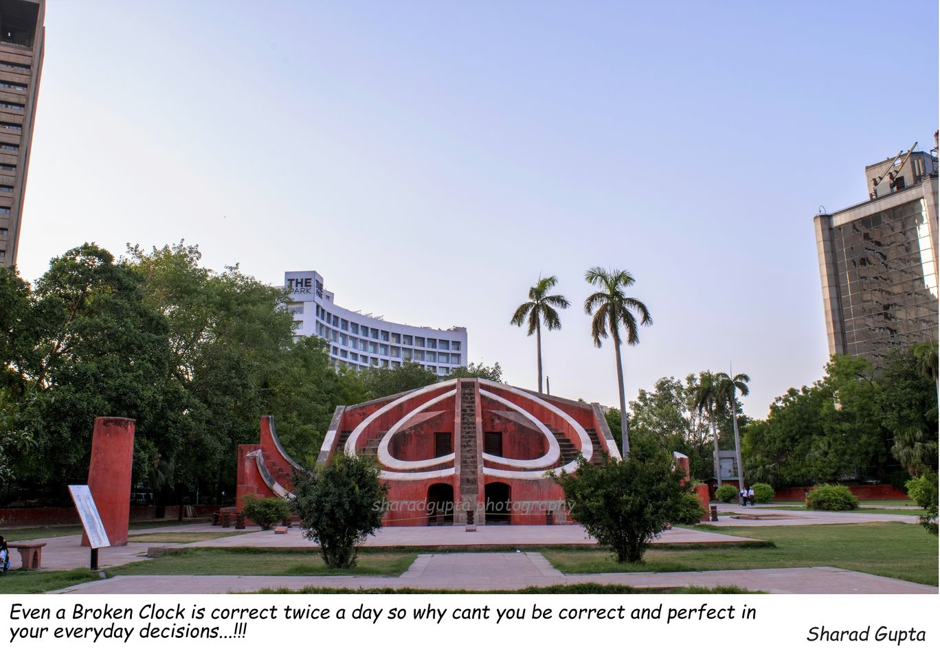 Photo of Jantar Mantar Road By Sharad Gupta