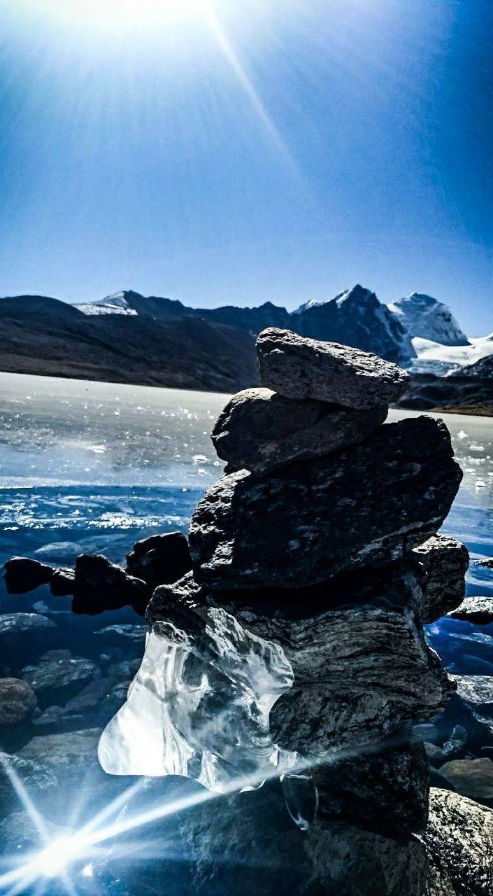 Photo of Gurudongmar Lake By sakshi mehta