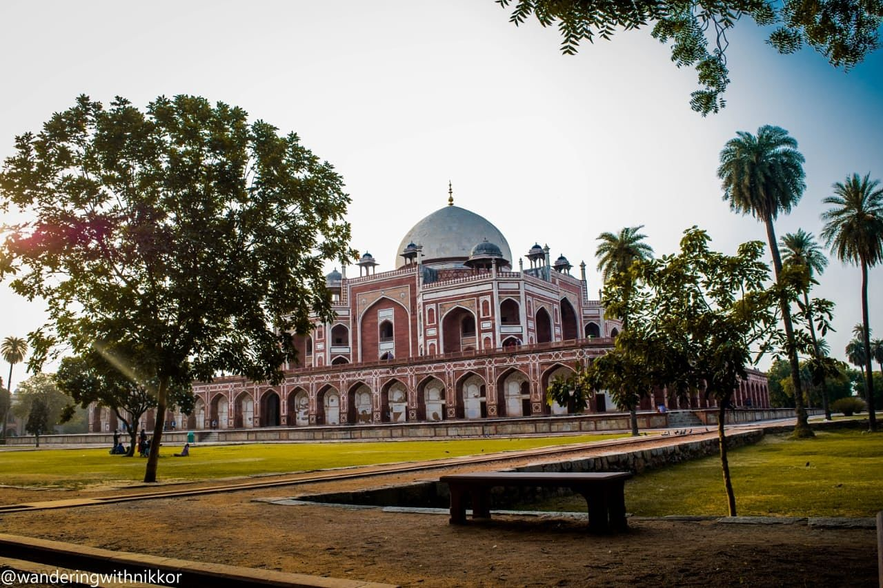 Photo of Humayun's Tomb By sparsh taneja