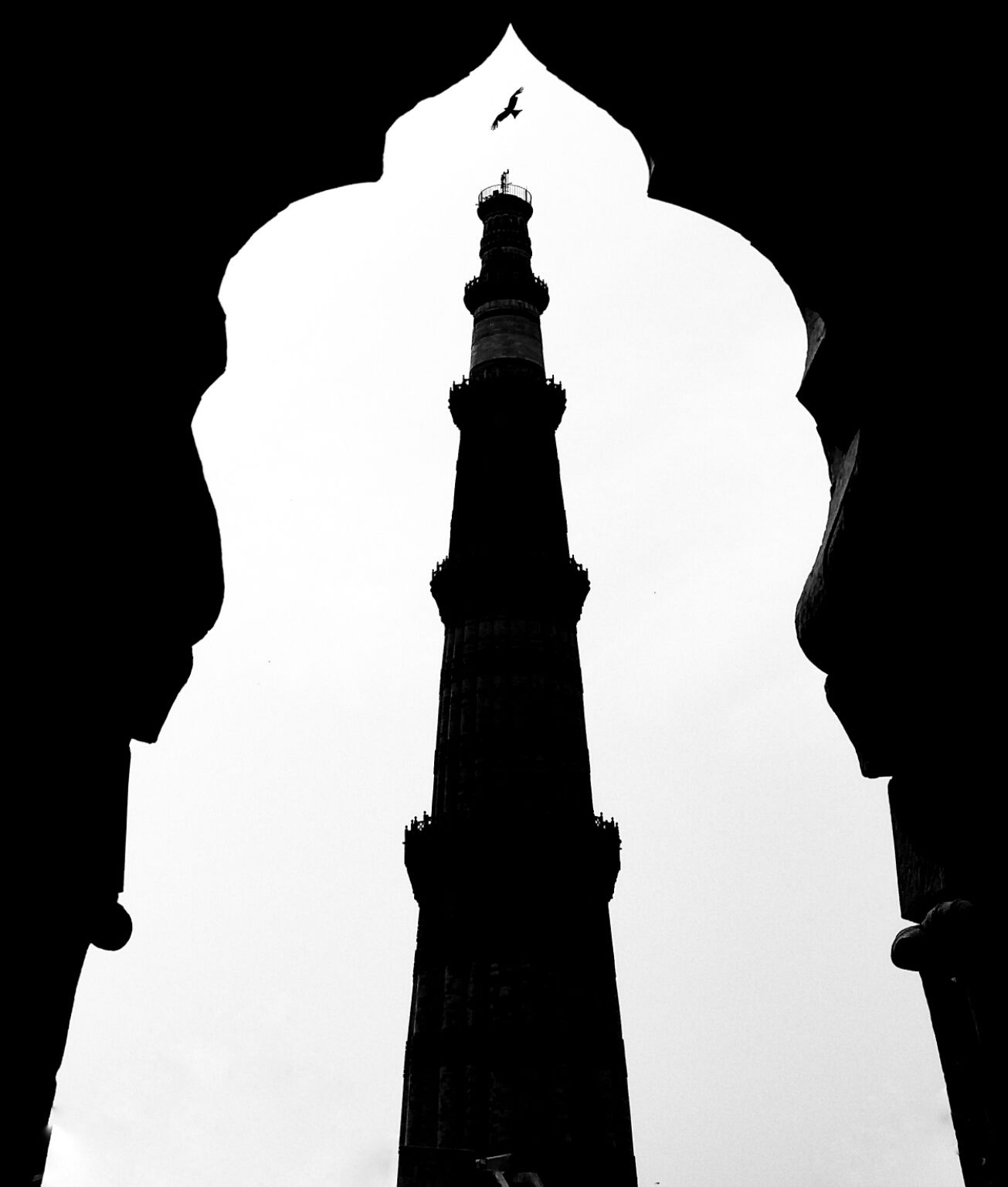 Photo of Qutub Minar By Rohit