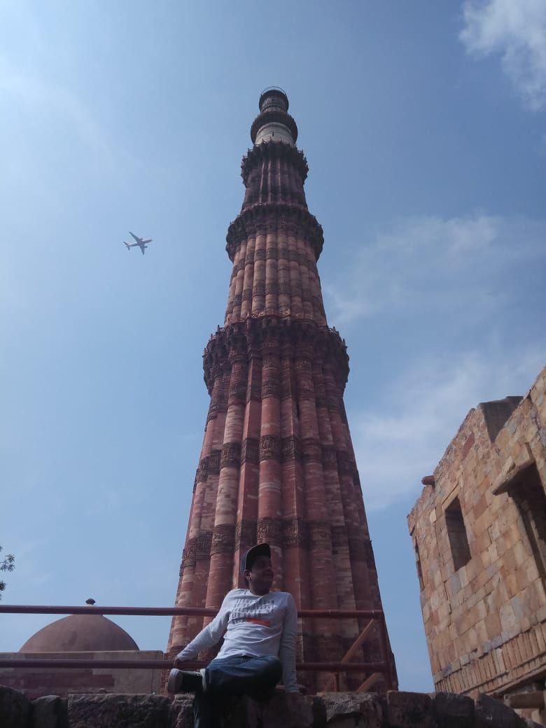 Photo of Qutub Minar By Imran Shaikh
