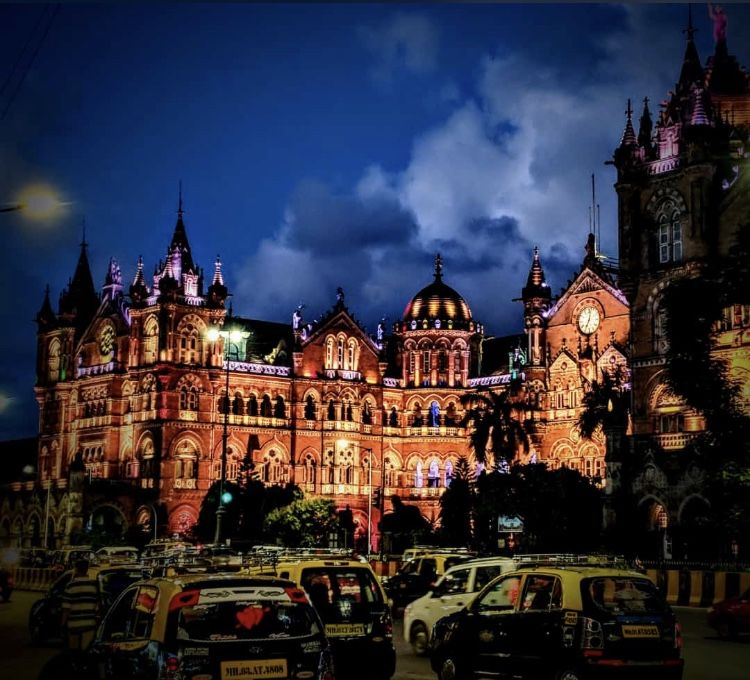 Photo of Chhatrapati Shivaji Terminus By palak jindal