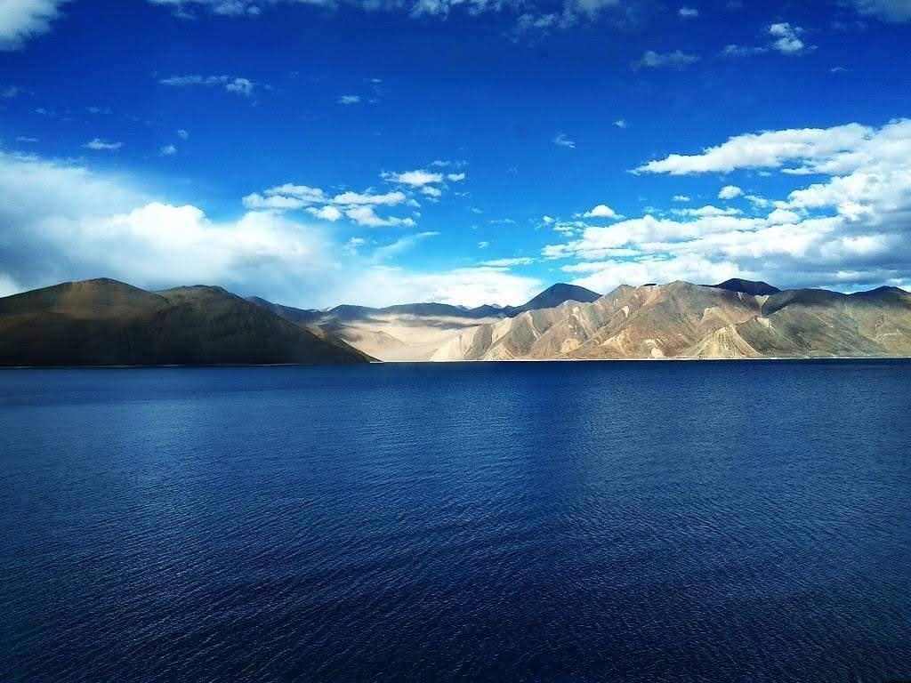 Photo of Pangong Lake By Vivek Prabhu