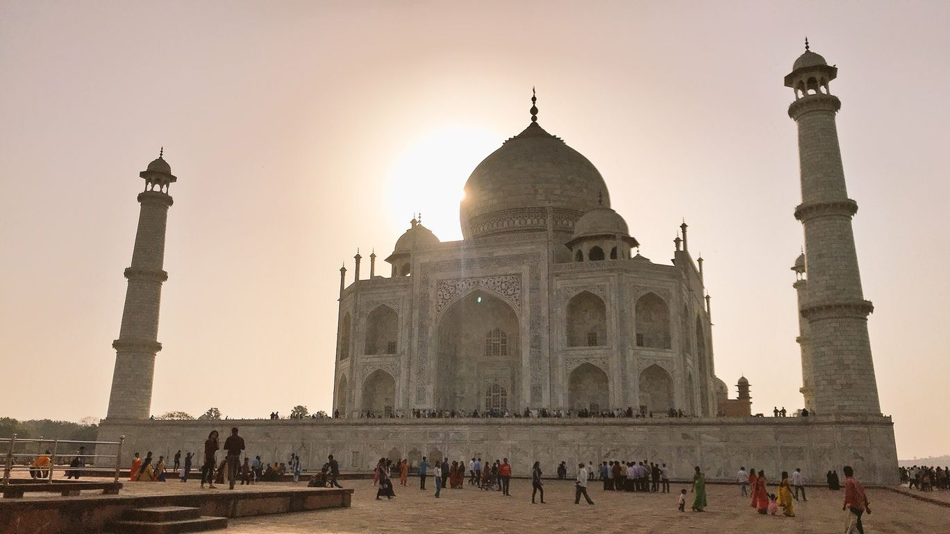 Photo of Taj Mahal By Aditi