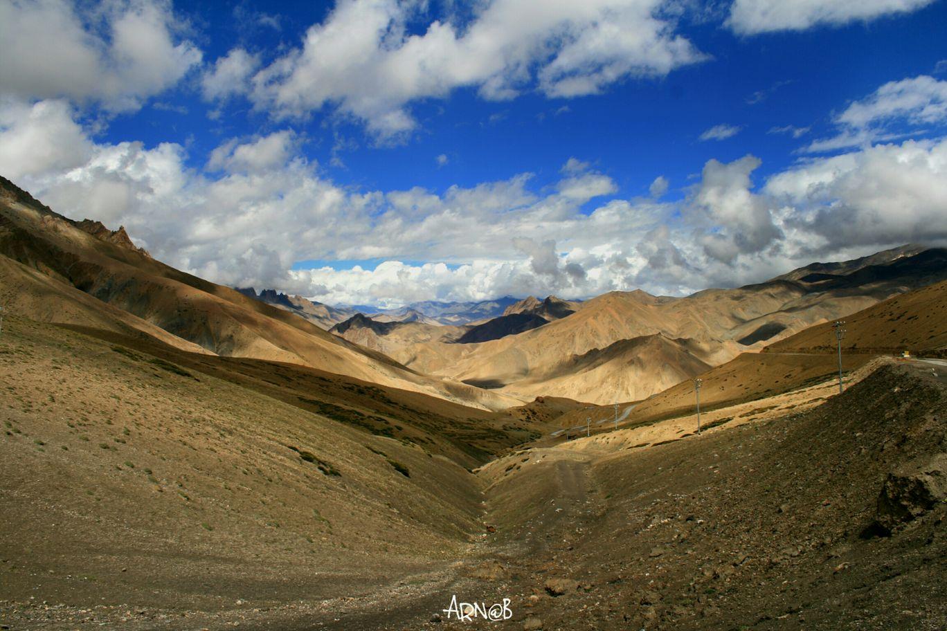 Photo of Khardung La Road By Arnab Bhattacharya