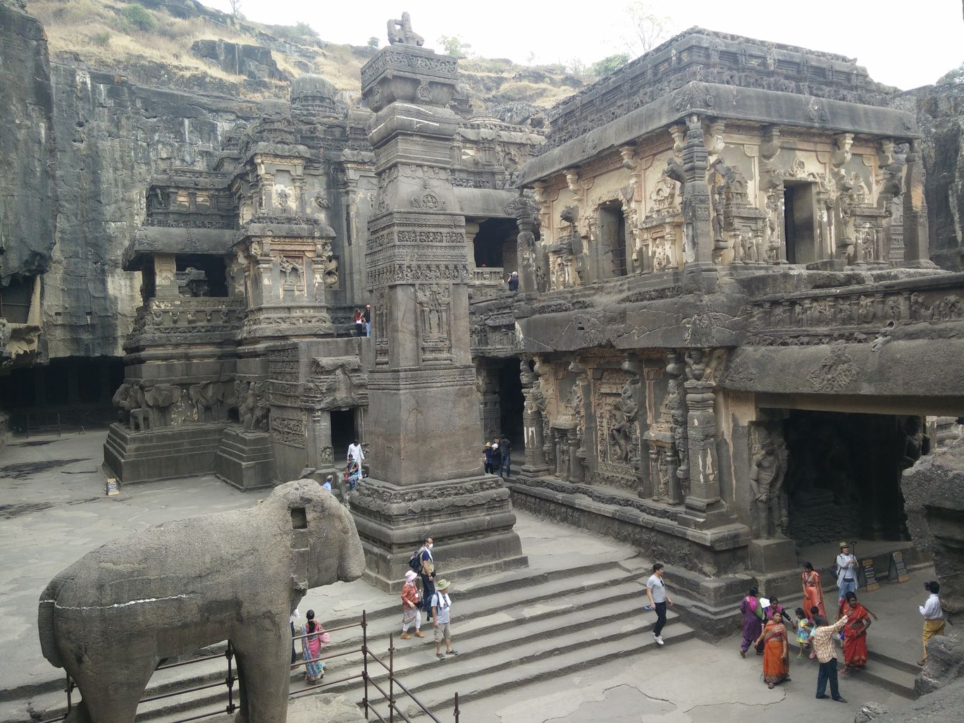 Photo of Ellora Caves. By Hemanth Varma