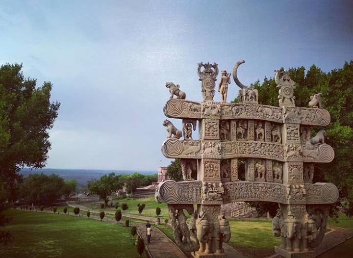 Photo of Sanchi Stupa By Kavita Raut