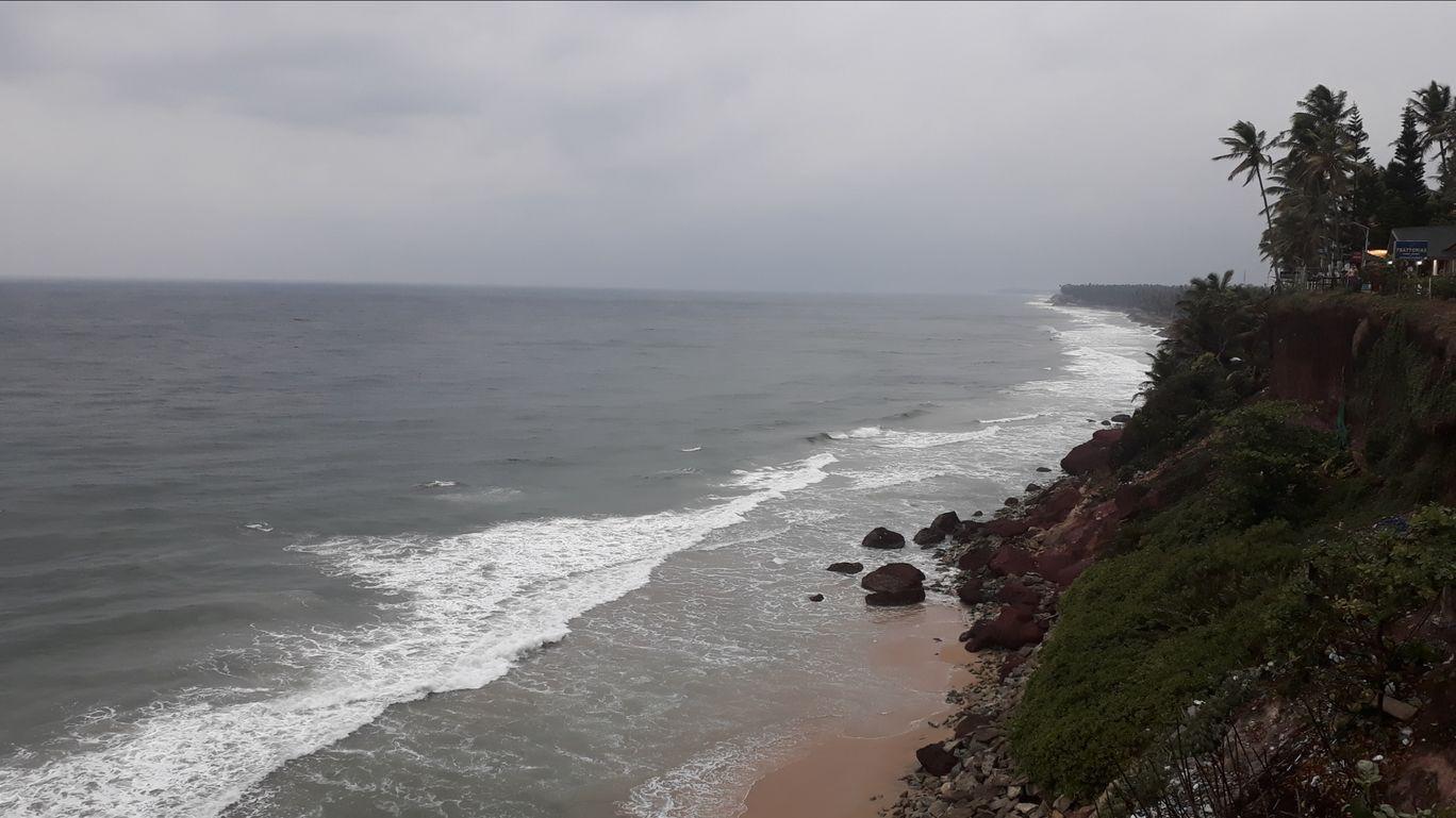 Photo of Varkala cliff By Vishal Kulkarni