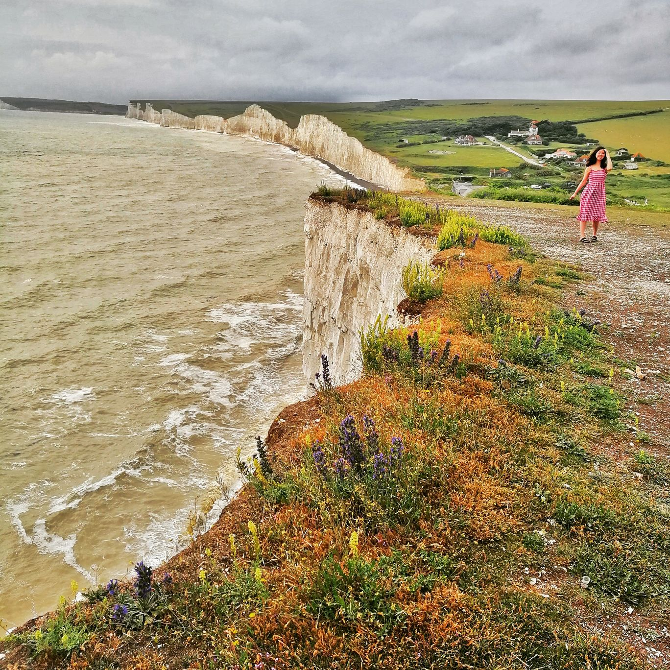 Photo of Seven Sisters Cliffs By Sharly