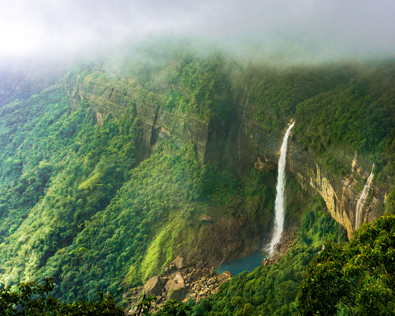 Photo of NohKaLikai Falls By Raghav Rai Ralhan