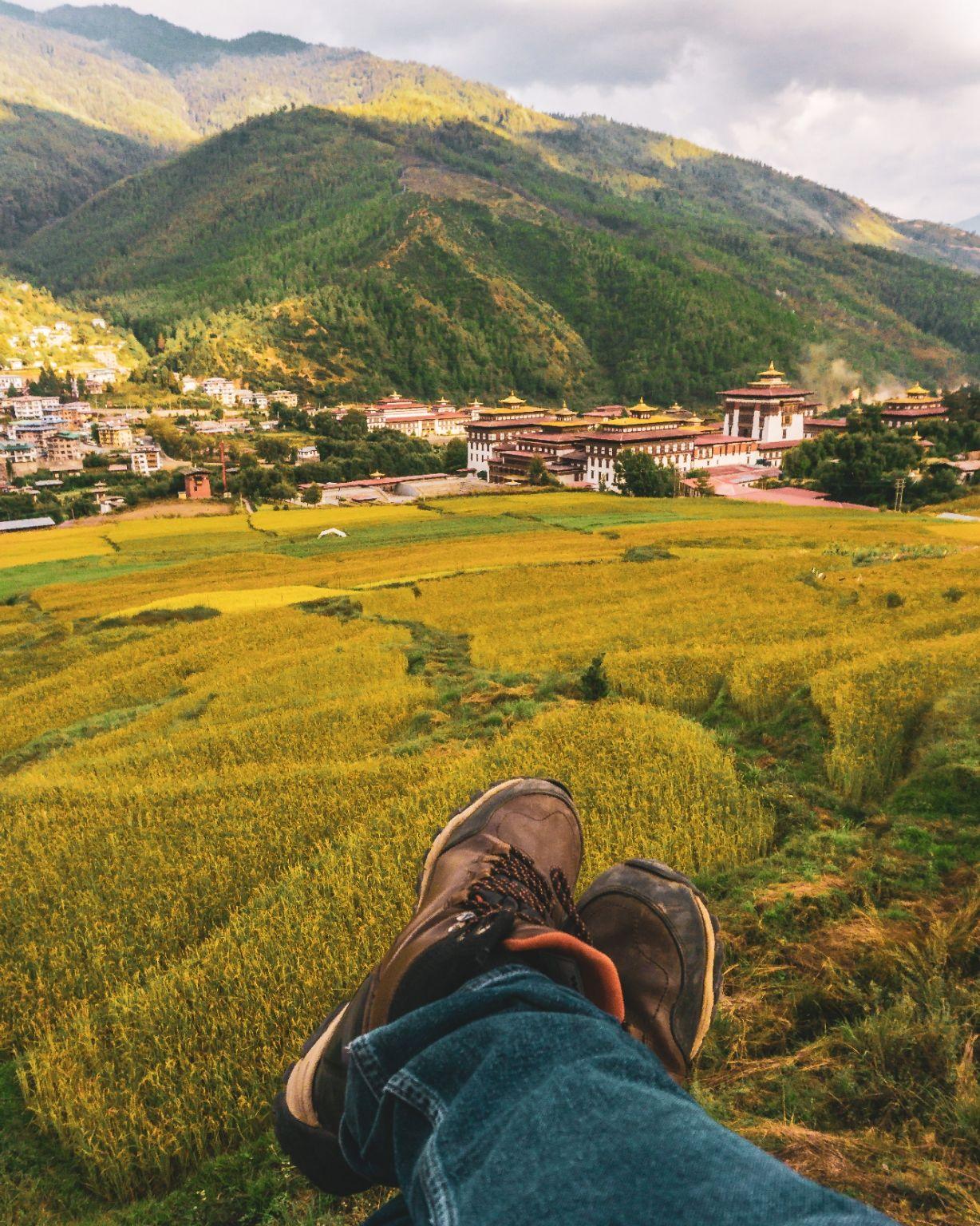 Photo of Thimphu By Raghav Rai Ralhan