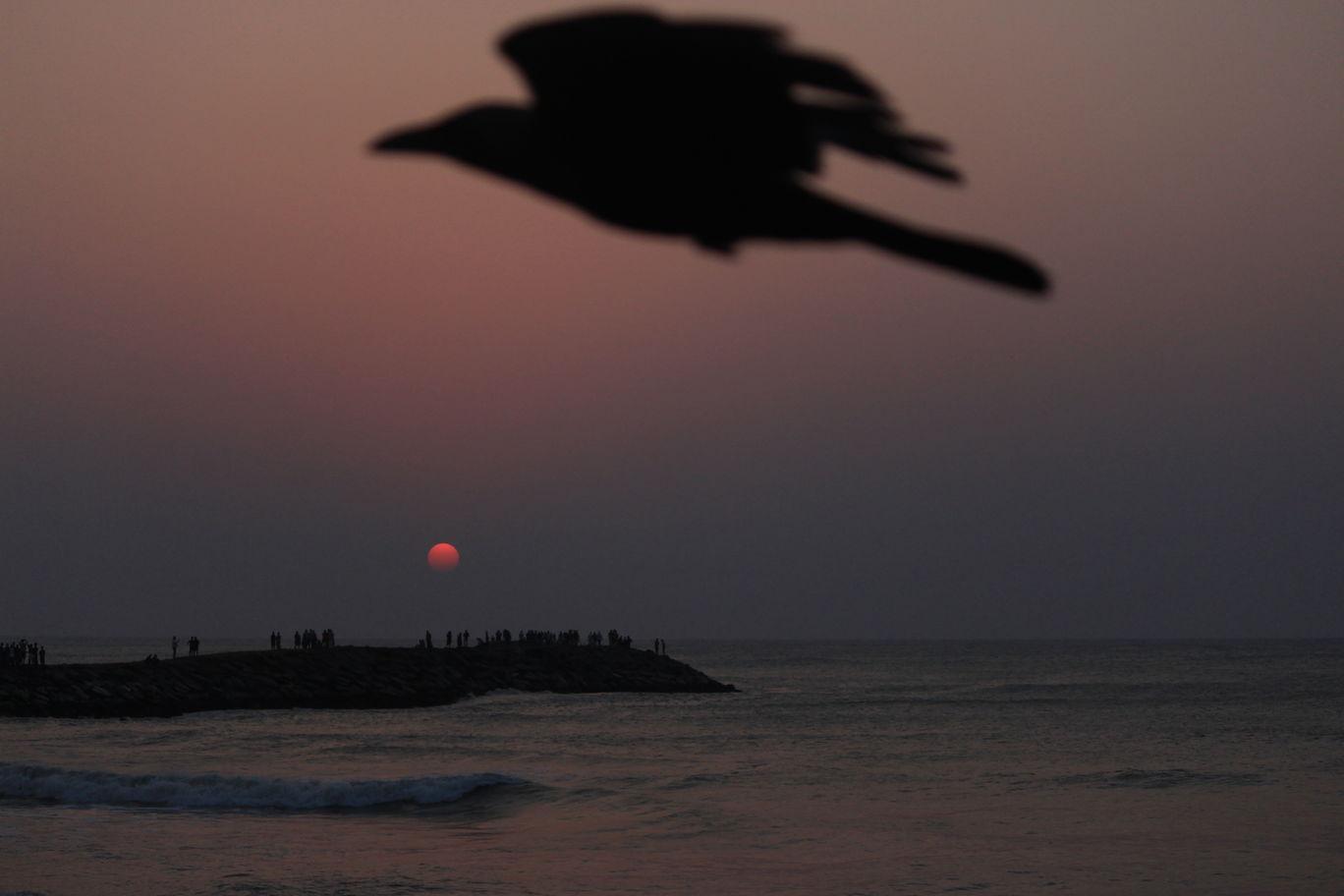 Photo of Kanyakumari Sunrise View By Saurabh Kathe