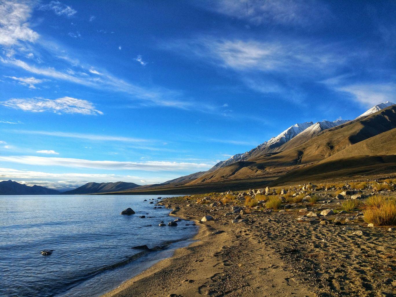 Photo of Pangong Lake By Akshay Batra