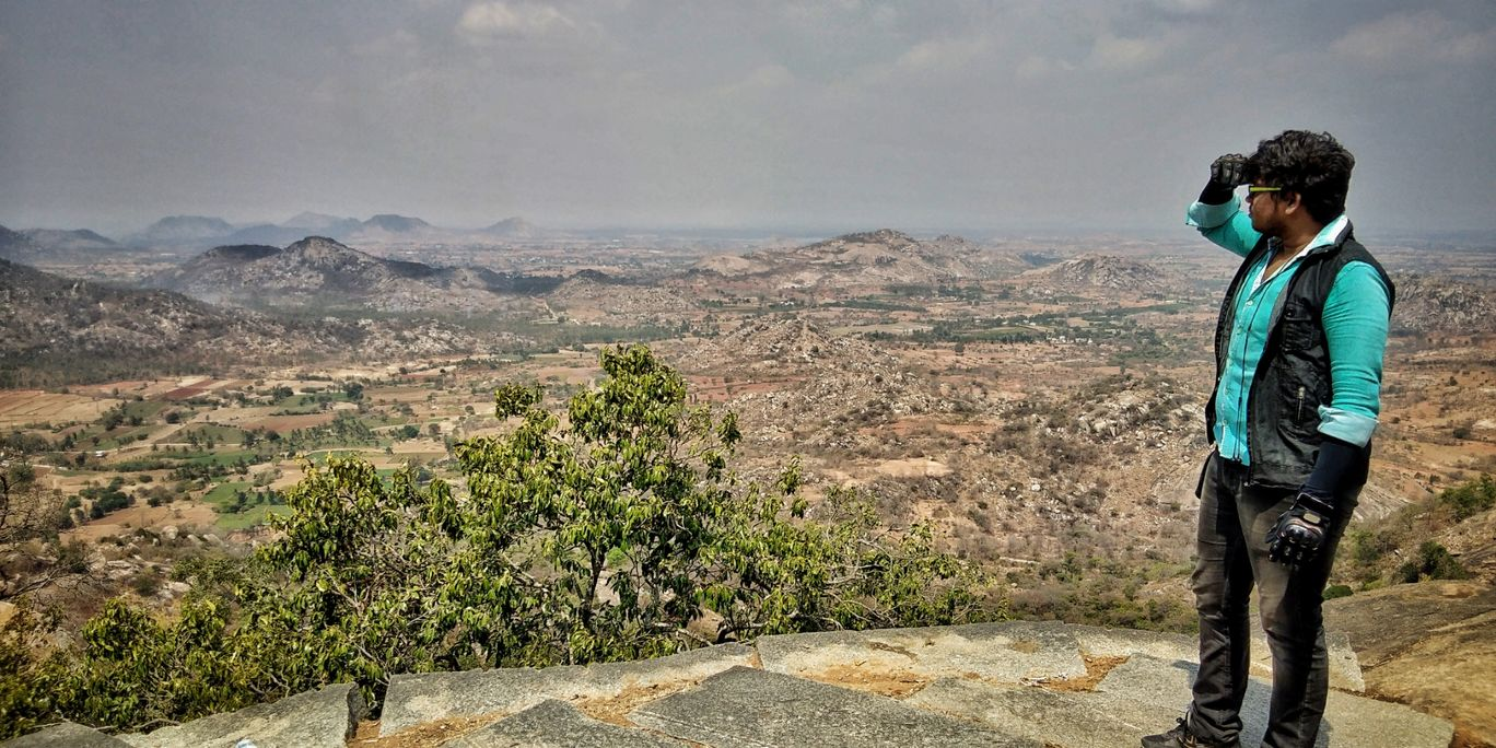 Photo of Avalabetta Hill Top View Point By Carl Johnson