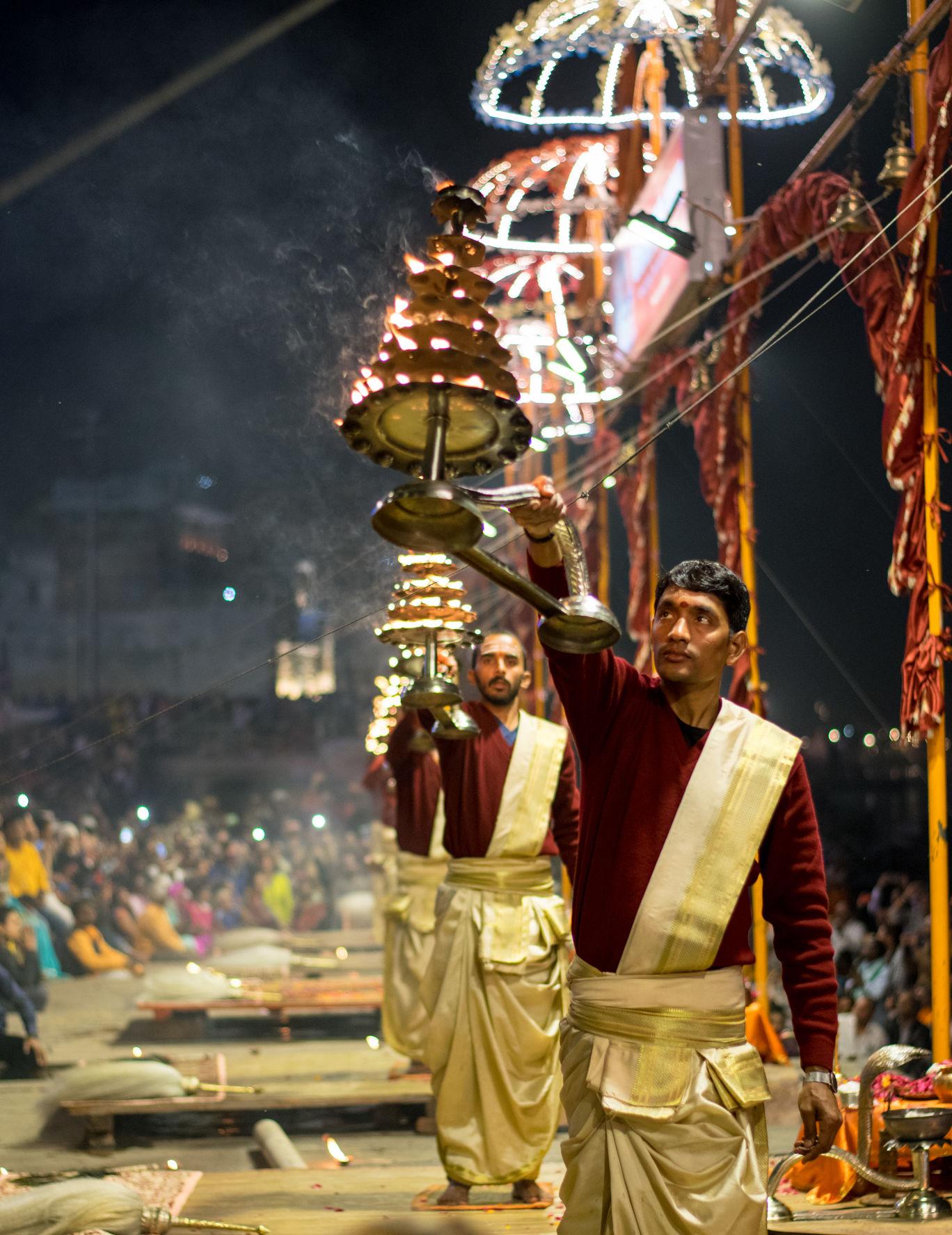 Photo of Ganga Aarti By Harshavardhan Behura