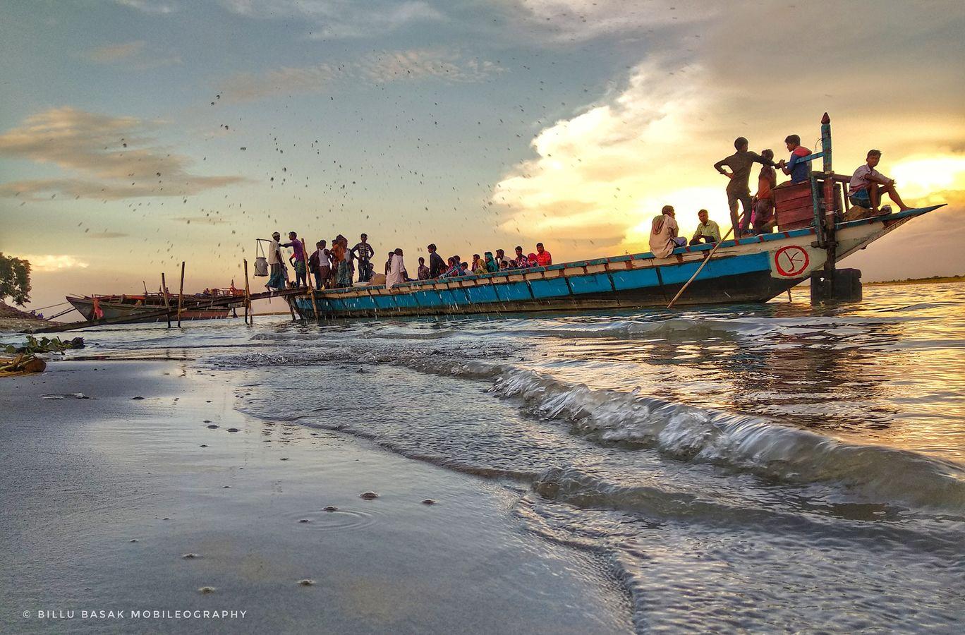Photo of Brahmaputra River By Billu Basak