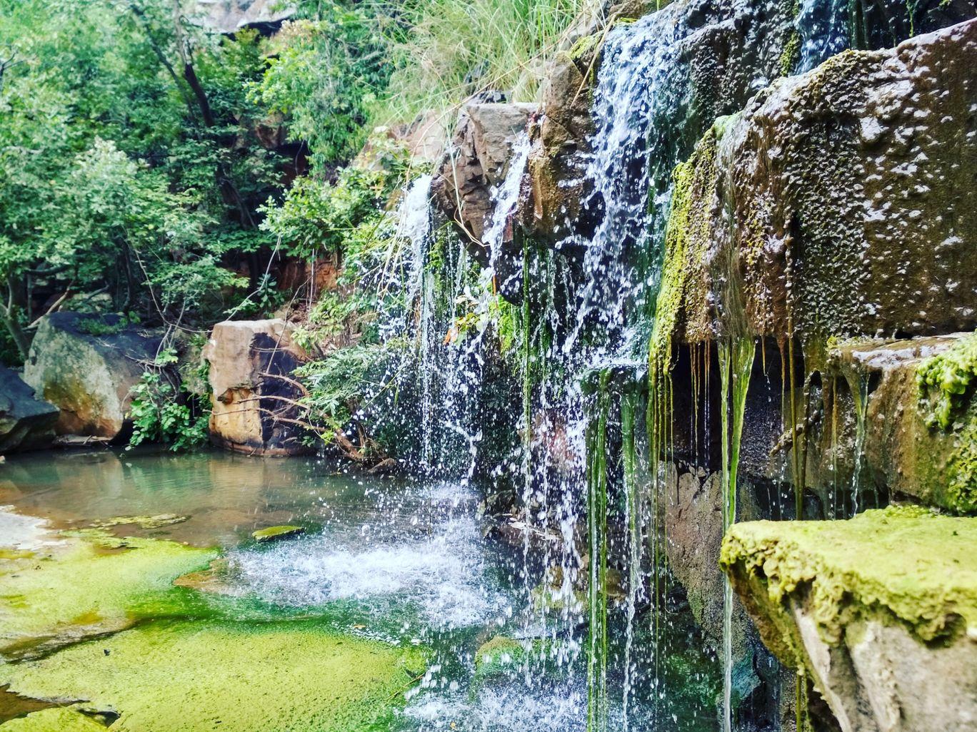 Photo of Mallela Thirtham Waterfall By Venu Madhav Gajavelli