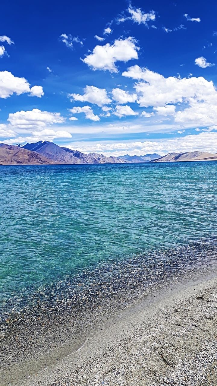 Photo of Pangong Lake By Rhea Sachdeva