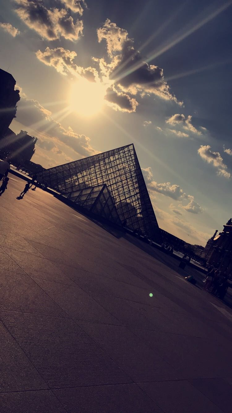 Photo of Louvre Museum By Avi bhandari