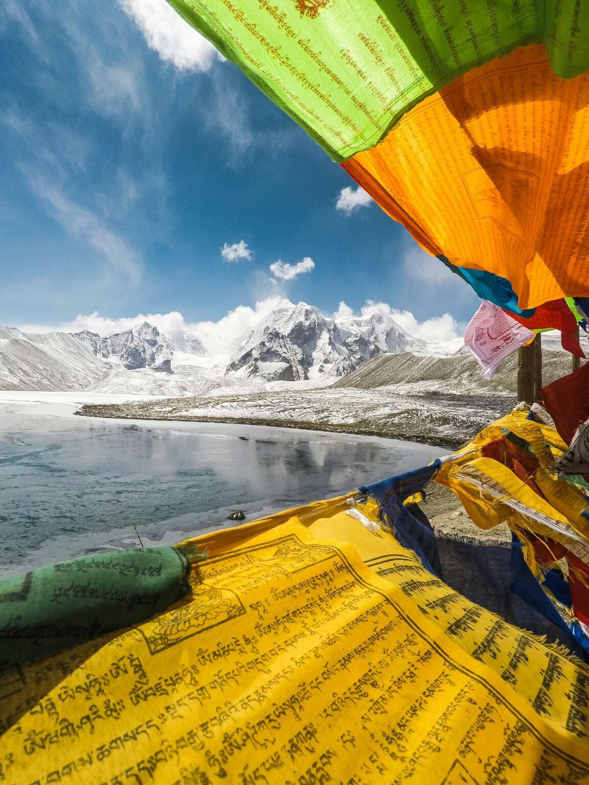Photo of Gurudongmar Lake By Swastik Sarkar