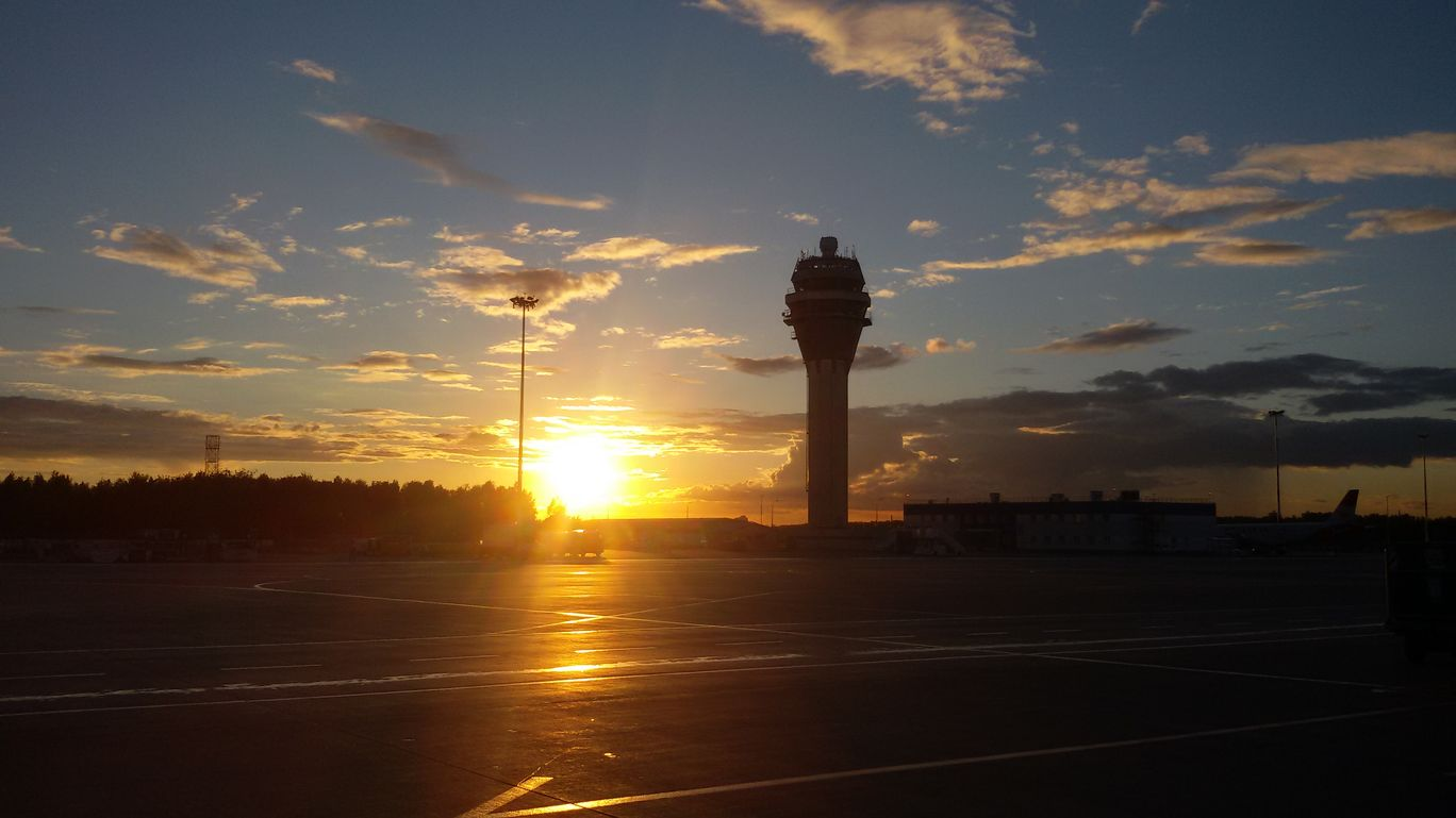 Photo of Pulkovo Saint Petersburg Airport (LED) By Astha