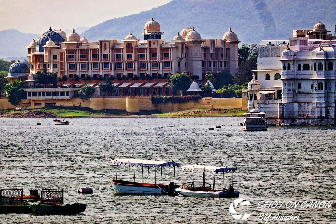 Photo of Lake Pichola By Anushri Tiwari