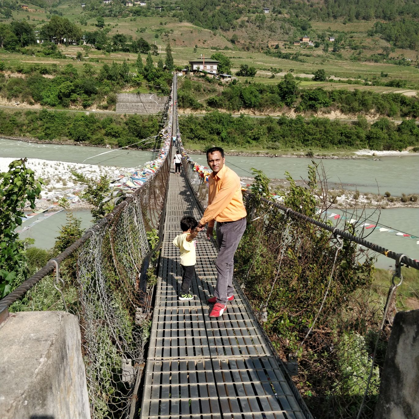Photo of Punakha Suspension Bridge By Shveta Jain