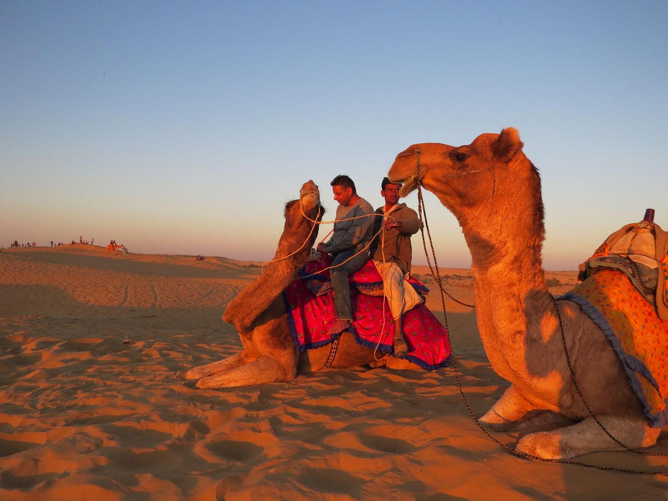 Photo of Sam Sand Dunes By Shveta Jain