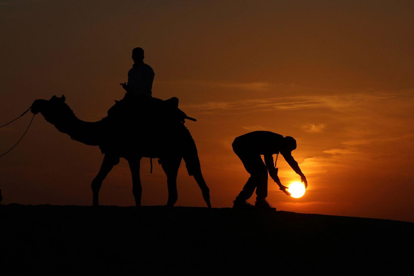 Photo of Sam Sand Dunes By Karan Gajjar