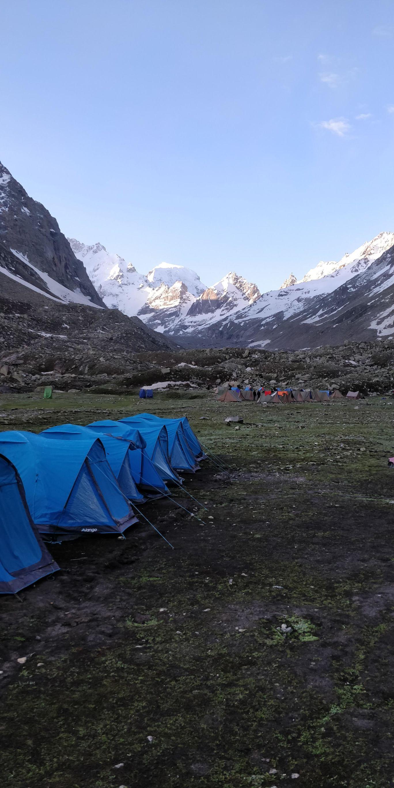 Photo of Hampta Pass Trek Camp Himalayan Mountain Sojourns By Chandan R