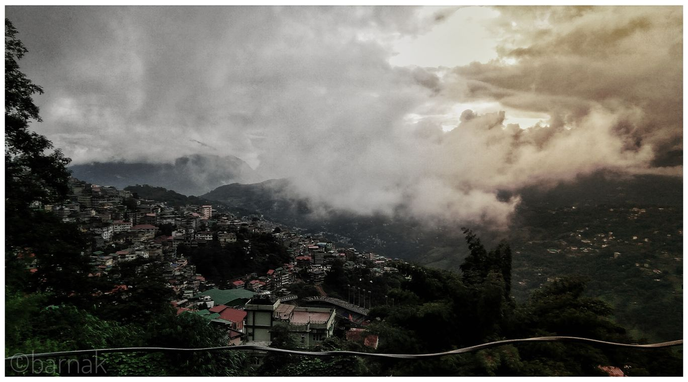 Photo of Gangtok By BARNAK MUKHERJEE