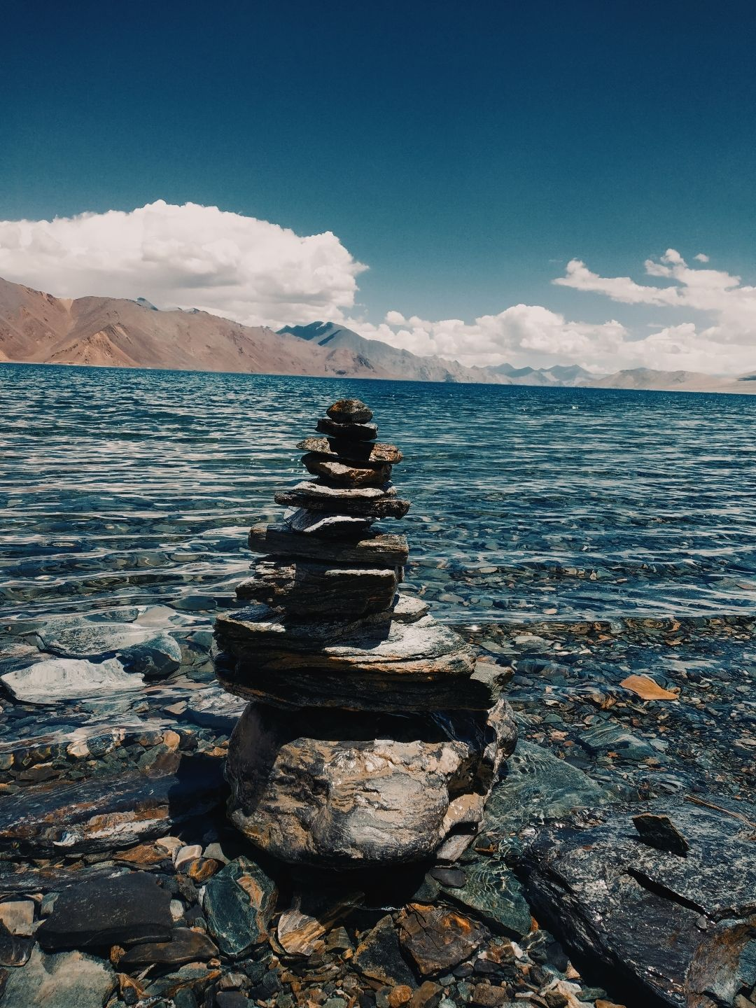 Photo of Pangong Lake By Pranathi Narayana Reddy