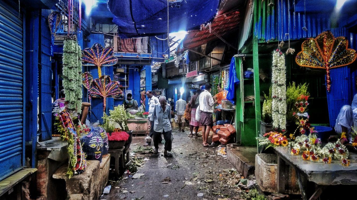 Photo of Mullick Ghat Flower Market By Shubham Yadav