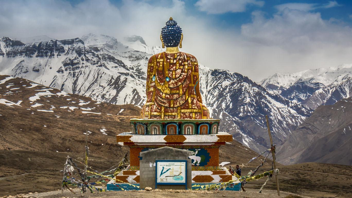 Photo of Langza Buddha Statue By Ankit Maheshwari