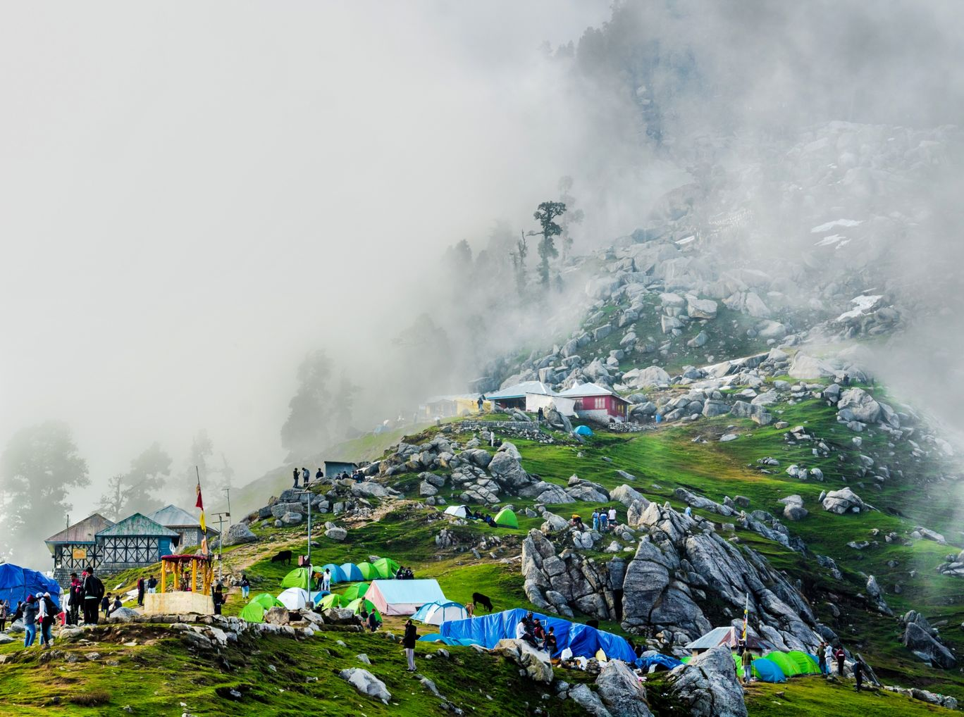Photo of Triund By Sachin Ghai