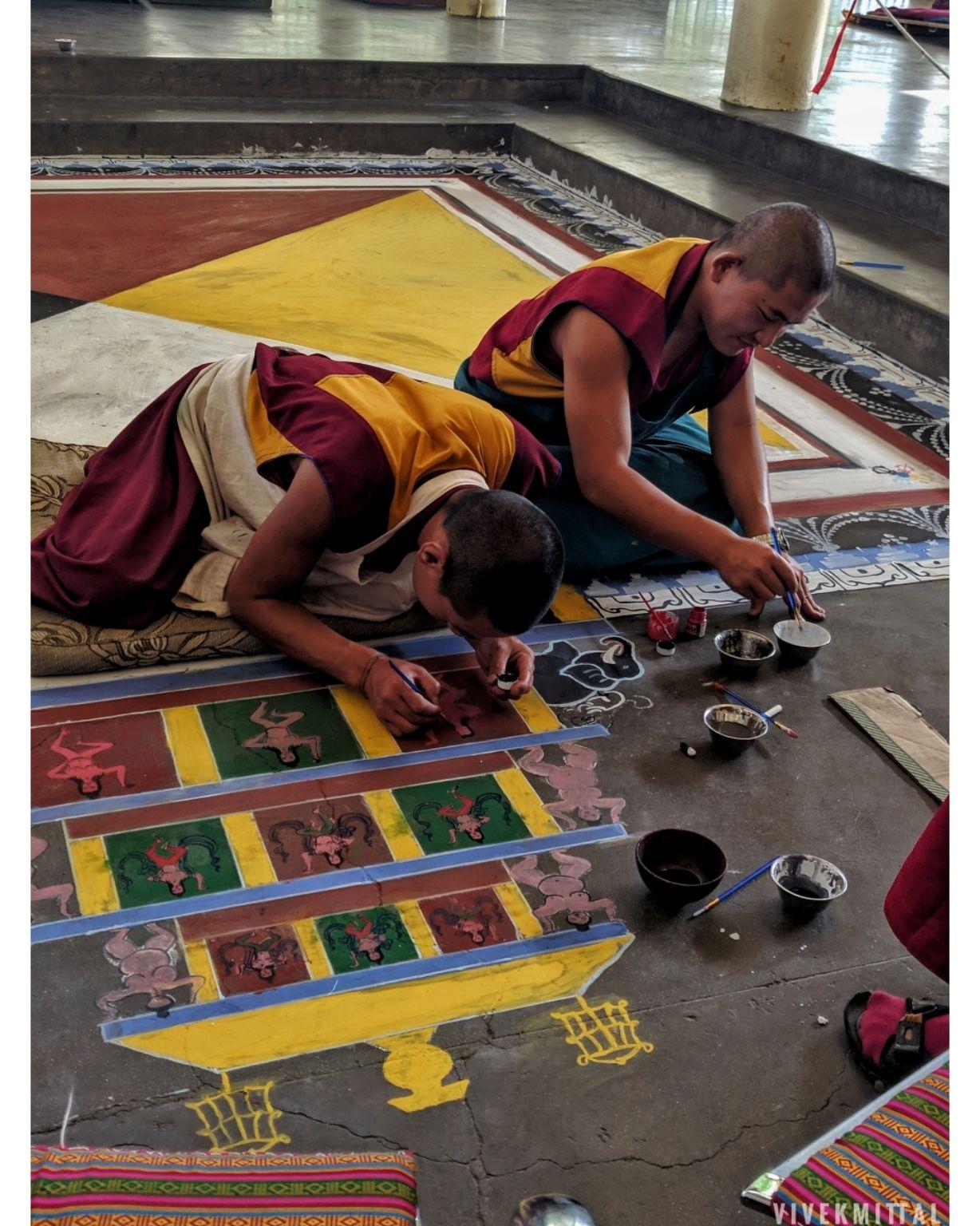 Photo of H.H. the Dalai Lama's Main Temple By Vivek mittal