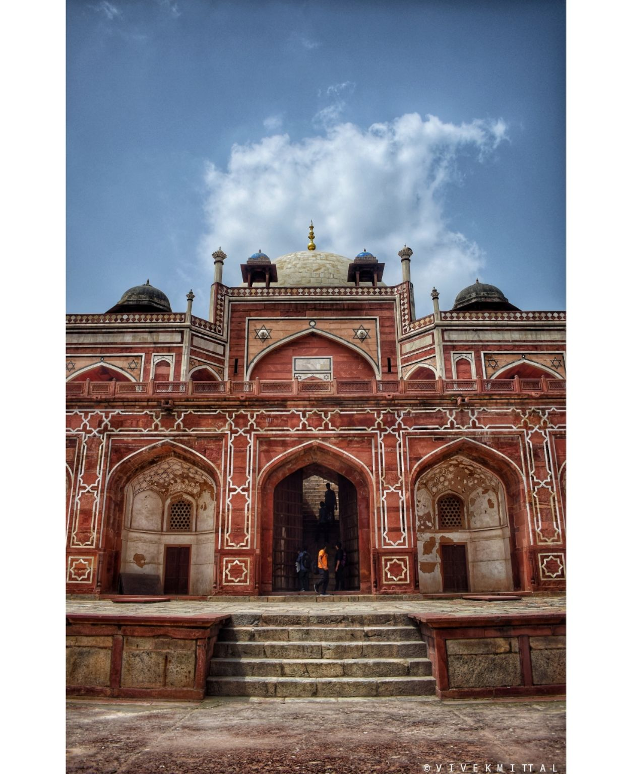 Photo of Humayun's Tomb By Vivek mittal