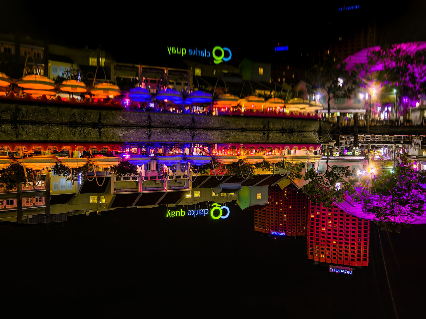 Photo of Clarke Quay By Ankit Shrivastava