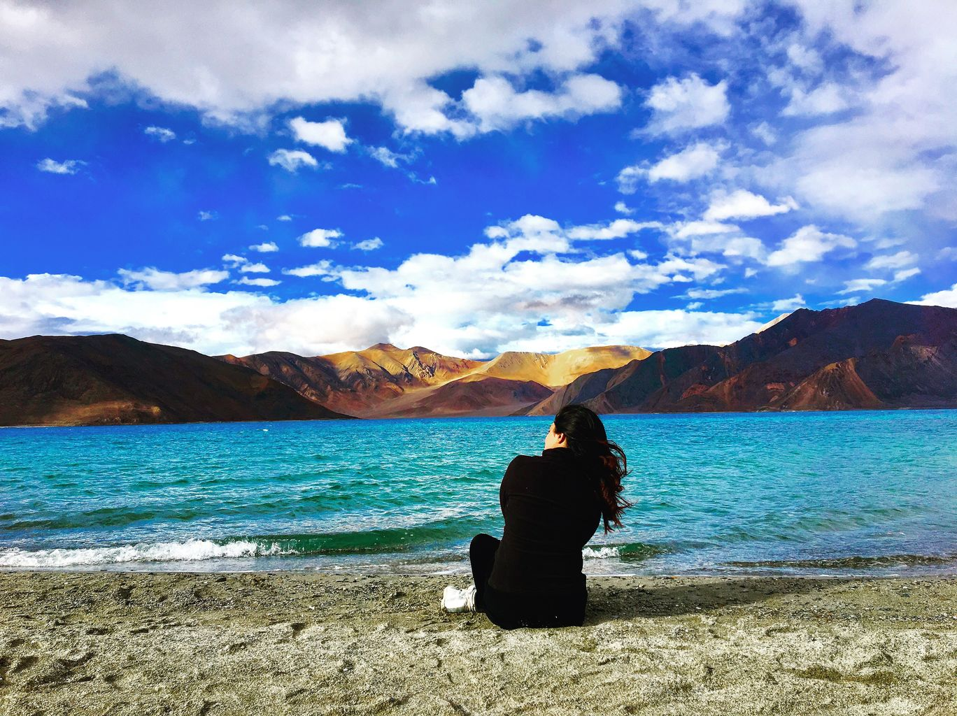 Photo of Pangong Lake By Shraddha Nefressica talwar