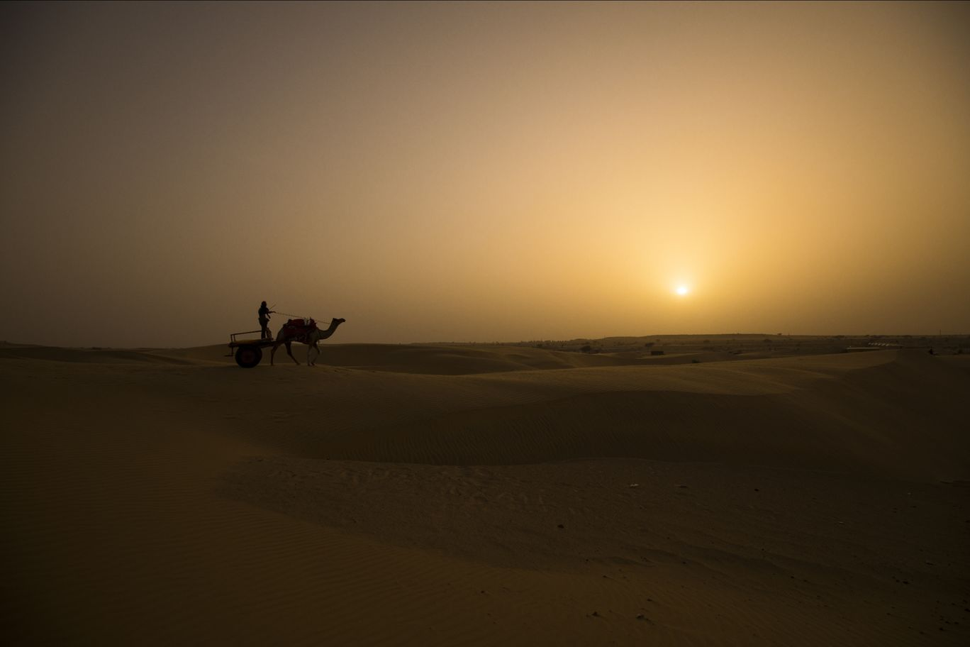 Photo of Sam Sand Dunes By Harsh Patel HP