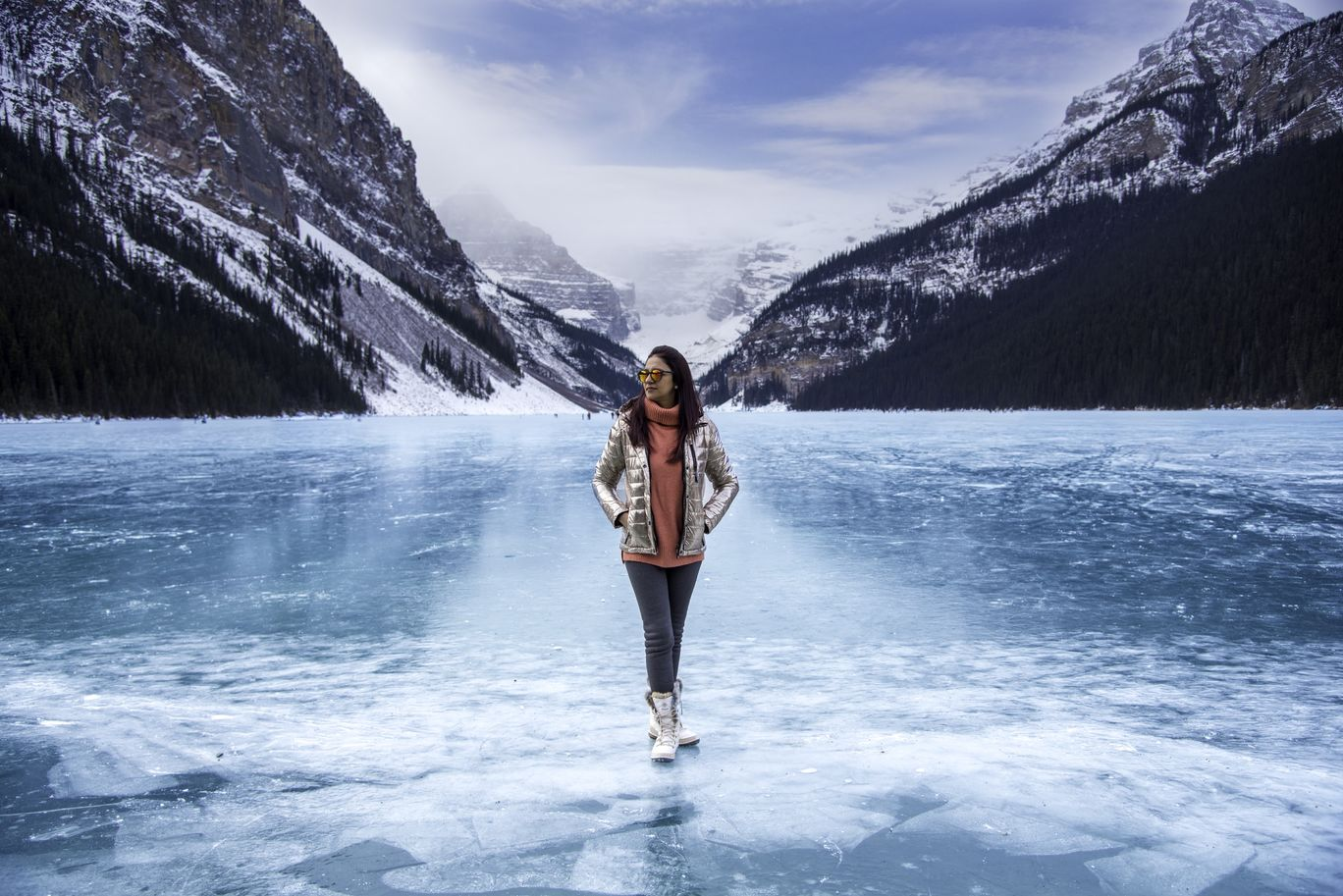 Photo of Lake Louise By Shivani Talwar