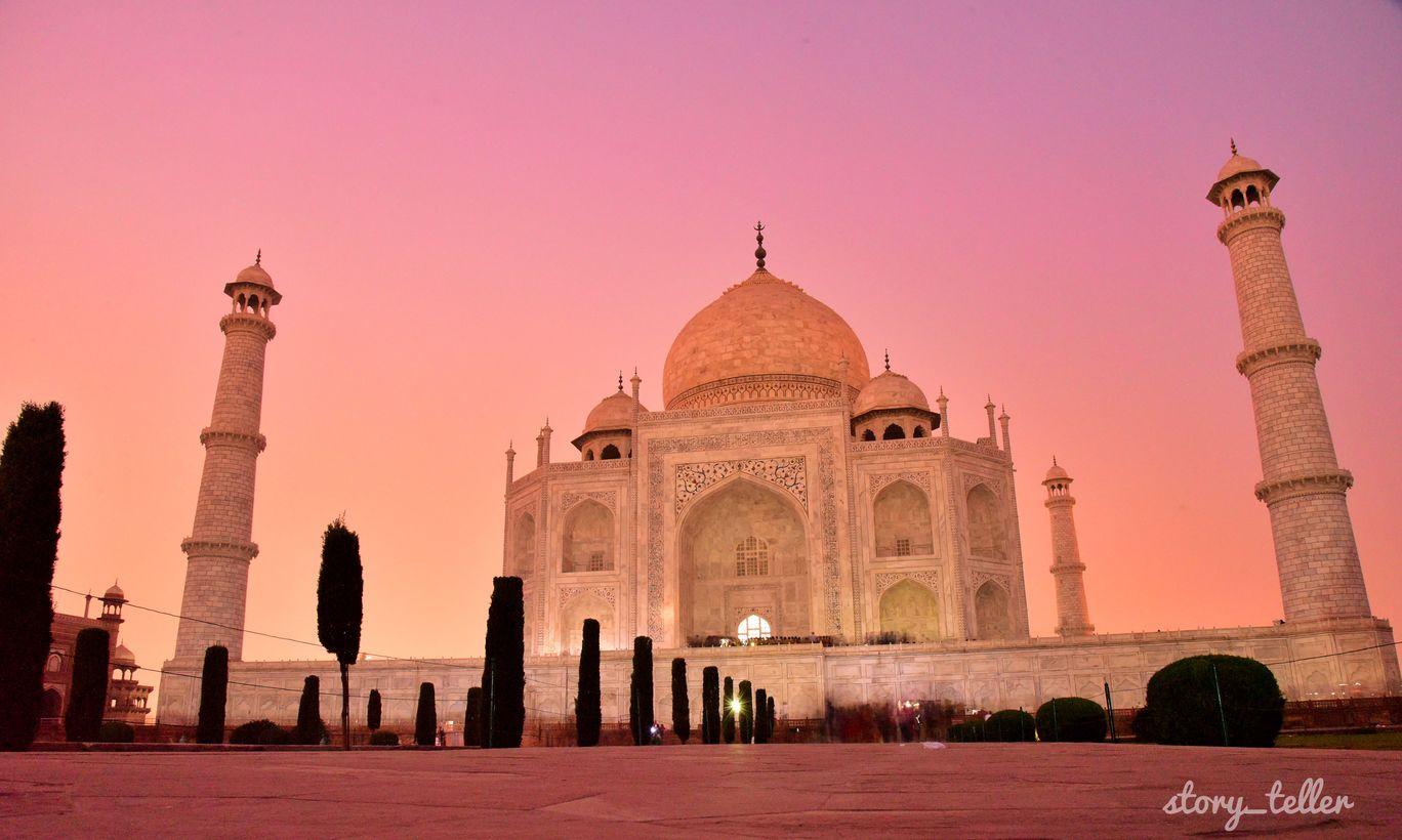 Photo of Taj Mahal By Salman mk
