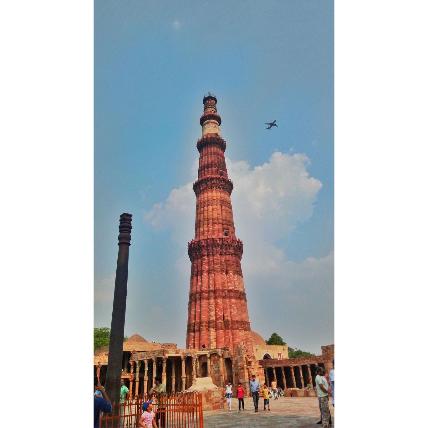 Photo of Qutub Minar By Dev Prakash