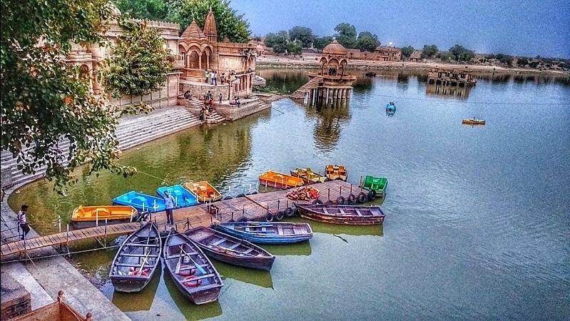 Photo of Gadisar Lake By Mridul Singhal