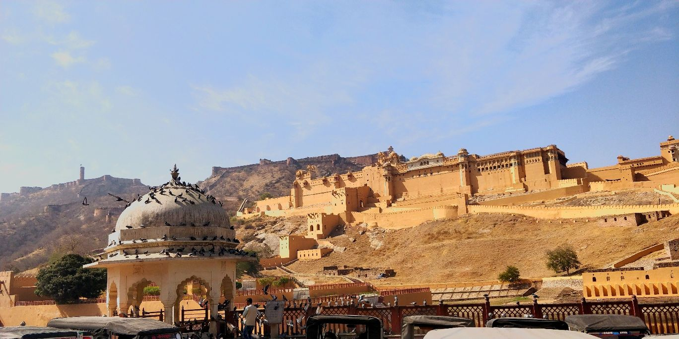 Photo of Amer Fort By Rishabh Vishnoi