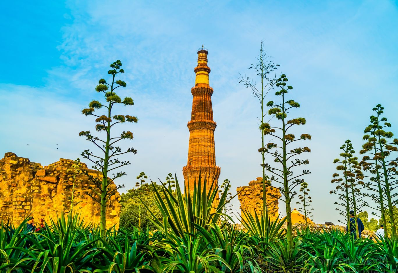 Photo of Qutub Minar By Sanchit Goyal