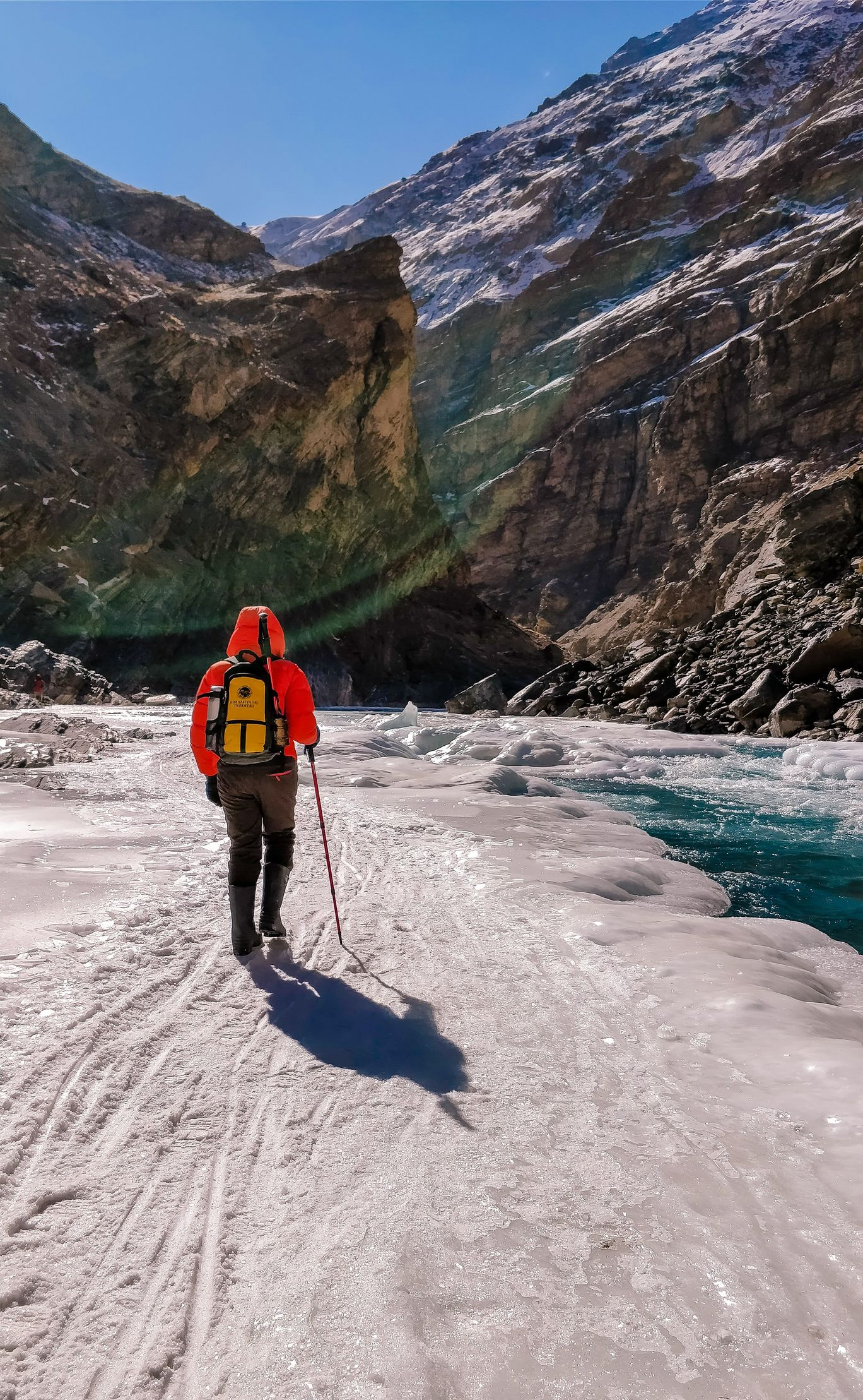 Photo of Chadar trek - Trekking In Ladakh - Frozen River Trekking In Ladakh By Sally Lopes